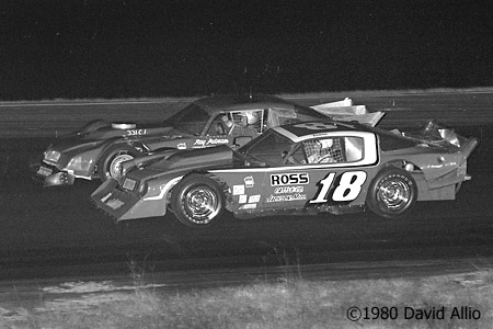 Mobile Speedway 1980 Ronnie Sanders Ray Putnam