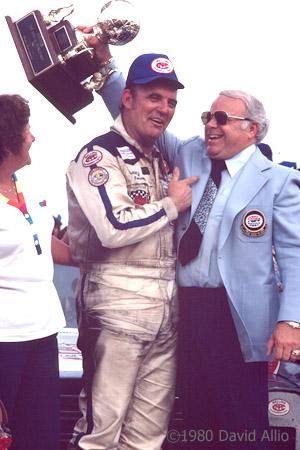 Charlotte Motor Speedway 1980 Benny Parsons Bruton Smith