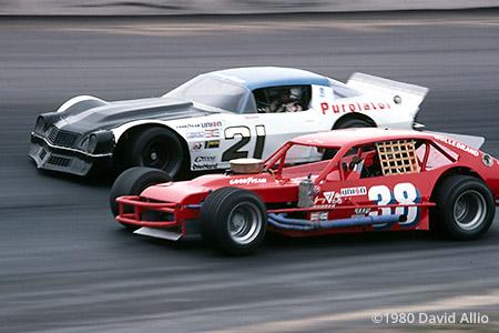 North Wilkesboro Speedway 1980 David Pearson Jerry Cook