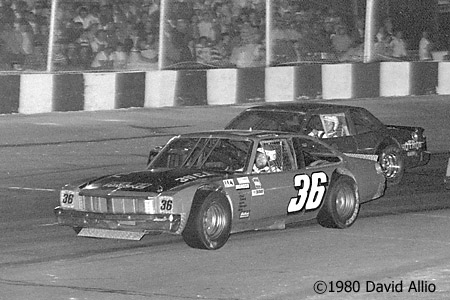 Asheville Motor Speedway 1980 Kerry Bodenhamer Morgan Shepherd