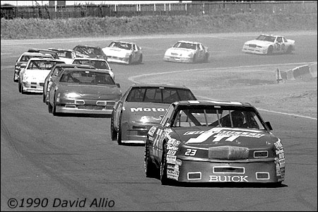 Evergreen Speedway 1990 Mike Chase