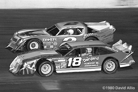 New Smyrna Speedway 1980 Mike Miller Mark Martin