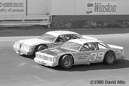 Hickory Speedway 1980 John Settlemyer Tommy Houston