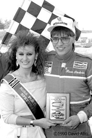 Portland Speedway 1990 Kevin Stemberis Suzie Al-Khalasi