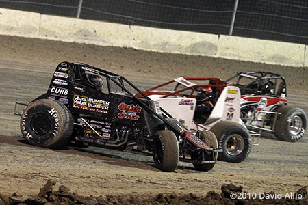 The Dirt Track at LVMS 2010 Brad Sweet