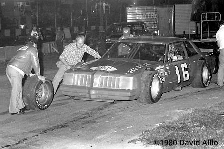 Asheville Motor Speedway 1980 Butch Lindley