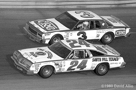 Bristol Intl Raceway 1980 Cecil Gordon Richard Childress