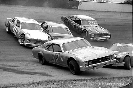 Kingsport Intl Speedway 1980 Gary Potter Tommy Hilbert
