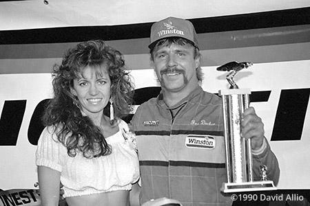 Evergreen Speedway 1990 Joe Decker