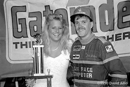 Evergreen Speedway 1990 John Dillon trophy