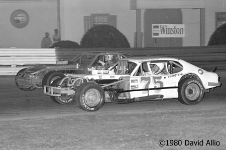 Bowman Gray Stadium 1980 Robert Jeffreys Johnny Johnson