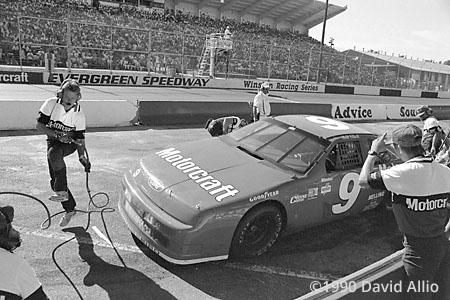 Evergreen Speedway 1990 Bill Elliott
