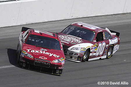 Talladega Superspeedway 2010 Bobby Labonte David Reutimann