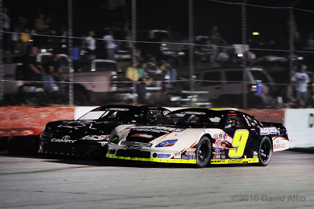 Greenville Pickens Speedway 2010 Chase Elliott Devin Jones