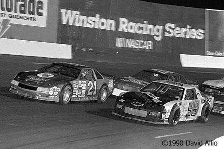 Tri-County Speedway 1990 Chrissy Oliver Chris Diamond