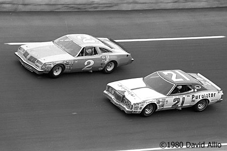 Daytona Intl Speedway 1980 Dale Earnhardt Neil Bonnett