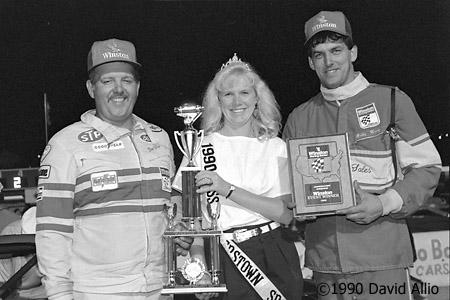 Jennerstown Speedway 1990 Dan White Bobby Henry