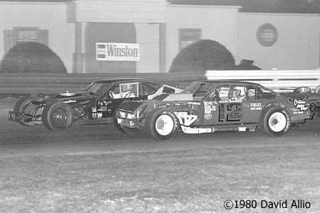 Bowman Gray Stadium 1980 Roger Beshears Gary Myers