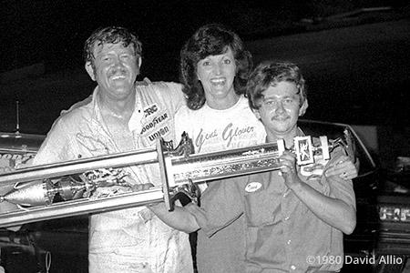 Kingsport Intl Speedway 1980 Gene Glover Tony Glover