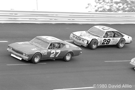 Charlotte Motor Speedway 1980 Richard Childress Phil Parsons