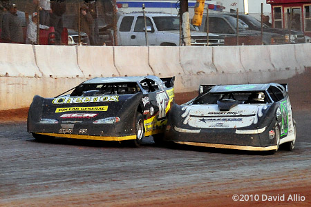 Cherokee Speedway 2010 Scott Bloomquist Dale McDowell