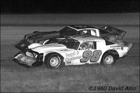 Five Flags Speedway 1980 Wayne Niedecken Jr Ronnie Sanders