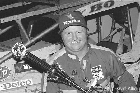 Cowtown Speedway 1990 Bo Rawdon