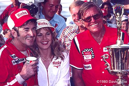 North Wilkesboro Speedway 1980 Bobby Allison Bud Moore
