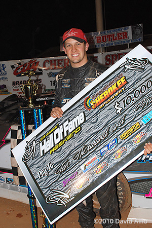 Cherokee Speedway 2010 Chris Ferguson winner