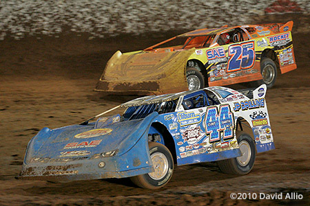 The Dirt Track at CMS 2010 Clint Smith Shane Clanton