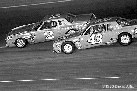 Bristol Intl Raceway 1980 Dale Earnhardt Richard Petty