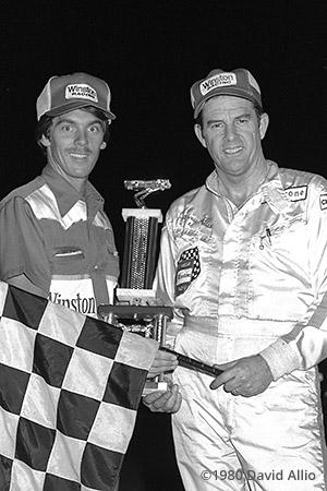 Greenville Pickens Speedway 1980 Johnny Allen Rick Hauser