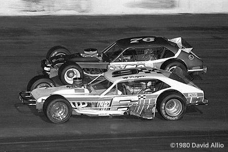 New Smyrna Speedway 1980 Maynard Troyer John Blewett Jr