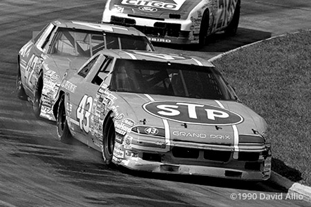 Martinsville Speedway 1990 Richard Petty Kyle Petty