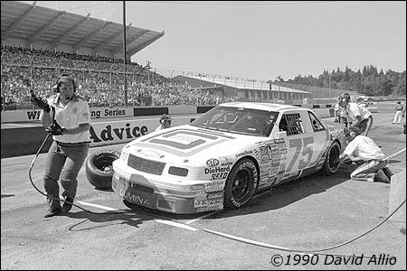Evergreen Speedway 1990 Bill Sedgewick