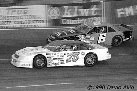 I-44 Speedway 1990 Larry Phillips Mike Wallace