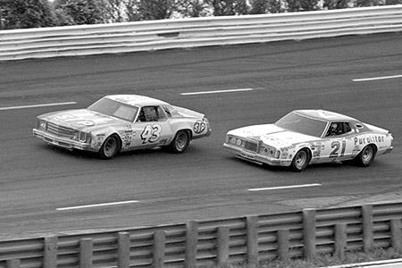 Charlotte Motor Speedway 1980 Richard Petty Neil Bonnett