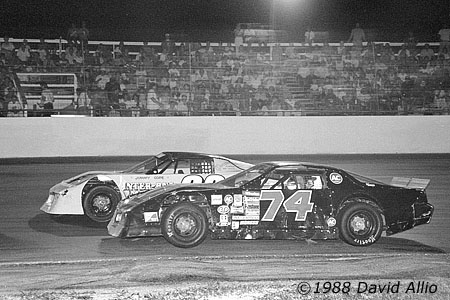 Sunshine Speedway 1990 David Pletcher Jimmy Cope