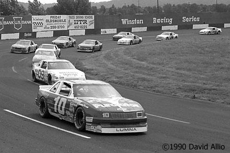 Portland Speedway 1990 Derrike Cope