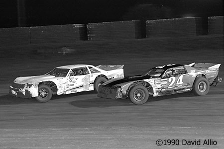 Antioch Fairgrounds 1990 Ed Sans Jr Larry Damitz