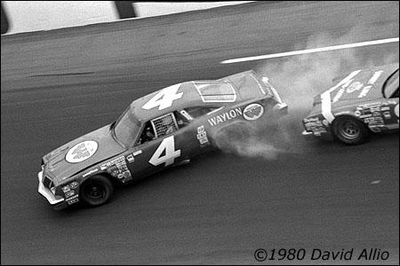 Daytona Intl Speedway 1980 Gary Baker Jody Ridley