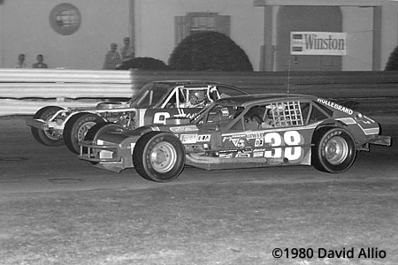 Bowman Gray Stadium 1980 Jerry Cook Ralph Brinkley