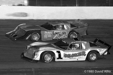New Smyrna Speedway 1980 Jim Bickerstaff Junior Hanley