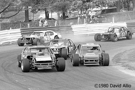 Bowman Gray Stadium 1980 Rick Webster Jerry Cook