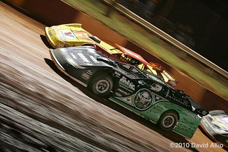 Rome Speedway 2010 Scott Bloomquist Steve Francis