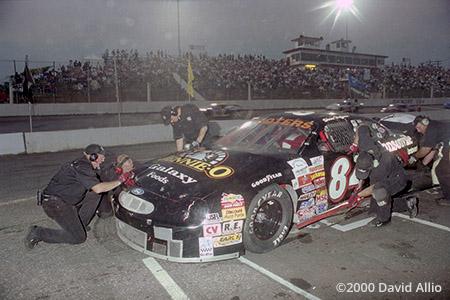 Hickory Motor Speedway 2000 Shane Huffman