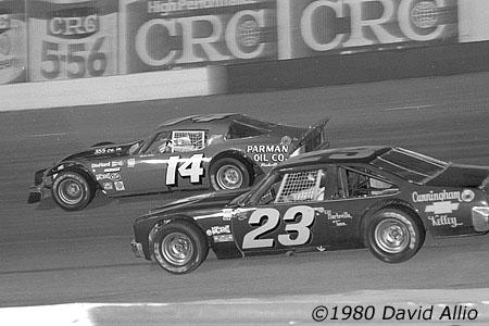 Nashville Fairgrounds Speedway 1980 Sterling Marlin Tony Cunningham