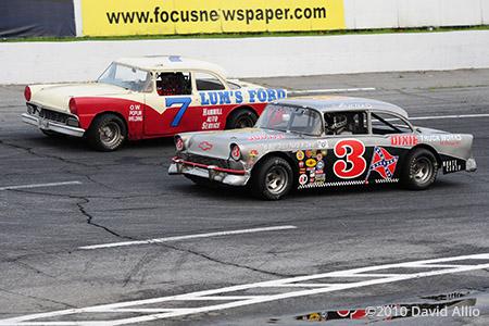 Tri-County Motor Speedway 2010 Wayne Hearne Wayne Poplin