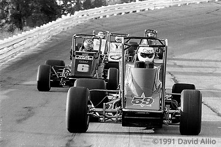 Salem Speedway 1991 Bob Cicconi