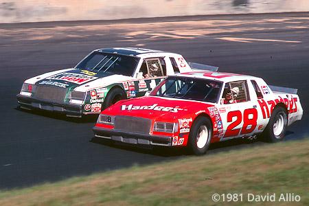 North Wilkesboro Speedway 1981 Bobby Allison Darrell Waltrip